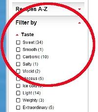 Cocktail-Rezepte Suche: Cocktail-Rezepte filtern