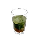 Caipiroska Zubereitung: Wodka und Rohrzucker dazugeben