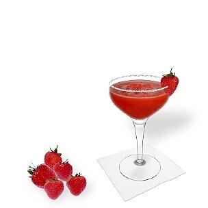 Eine weitere großartige Option für Frozen Strawberry Margarita ist die Cocktailschale.