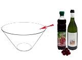 Kirschenbowle Zubereitung: Mischen