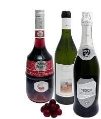 Kirschenbowle Zutaten: Mit Cherry Brandy (Standard)