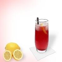Long Beach Ice Tea im Longdrinkglas.