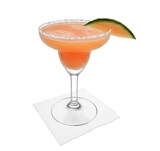 Melon Margarita Zubereitung: Servieren