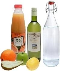 Sangria Blanca Zutaten: Mit Weißwein (Standard)