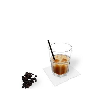 White Russian ist ein amerikanischer Cocktail aus Wodka, Kaffeelikör und Rahm.
